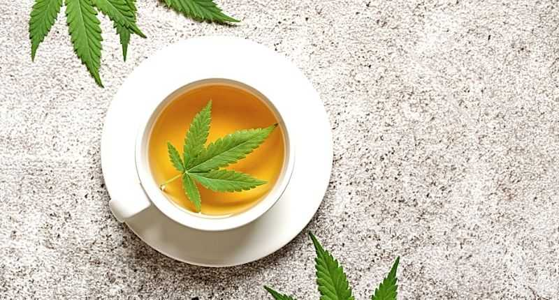 cannabidiol in food and drinks for wellness