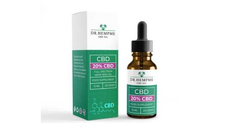 dr hemp me cannabidiol 20% level supplement