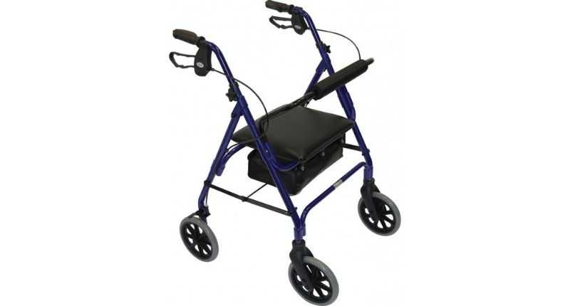 Days Rollator Blue Go Mobility walking aids