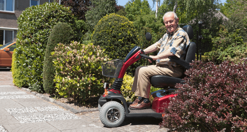 Mobility Scooters for the Elderly