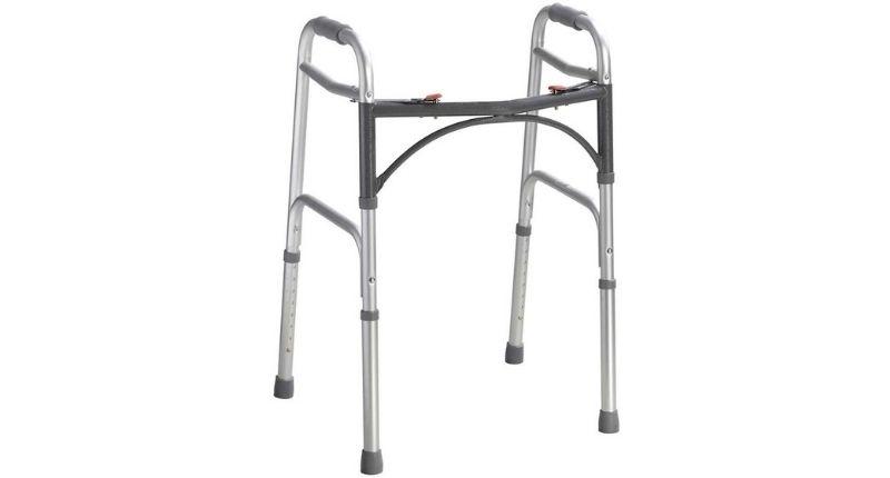 NRS Healthcare Lightweight Height Adjustable Folding Frame