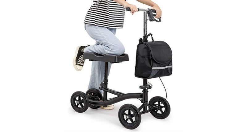 PINGJIA Foldable Knee Scooter Walker Weight Capacity