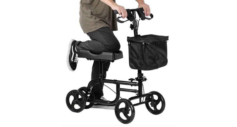 YUXINCAI Steerable Knee Rollator Walker