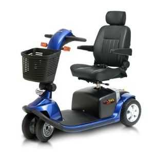 colt twin mobility scooter blue model