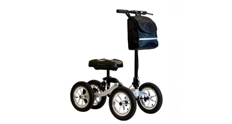 kneescoot quad 4 pro all terrain knee walker