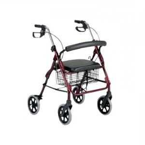 patterson four wheel rollator walking aid