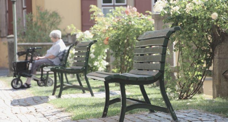 rollators as walkers for the elderly