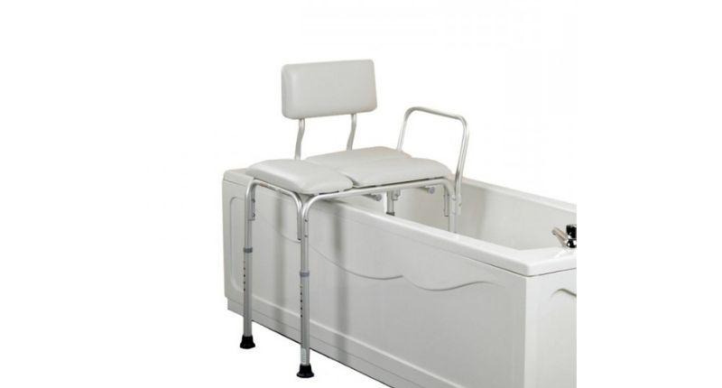 #1 Comfy Transfer Bath Bench