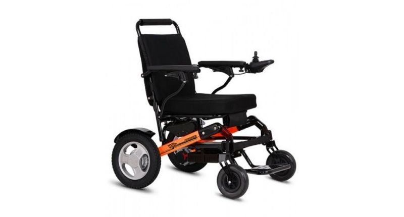 #3 D10 Folding electric Wheelchair - Best Folding Wheelchair
