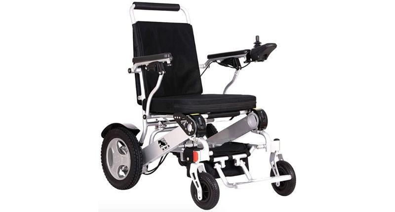 #8 KWK Foldable Lightweight Wheelchair