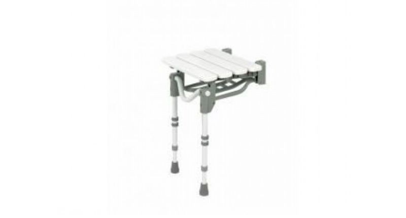 Best Wall-Mounted Option - Patterson Medical Shower Stool