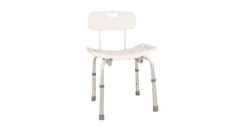 Best for Simplicity - Days Aluminum Shower Stool
