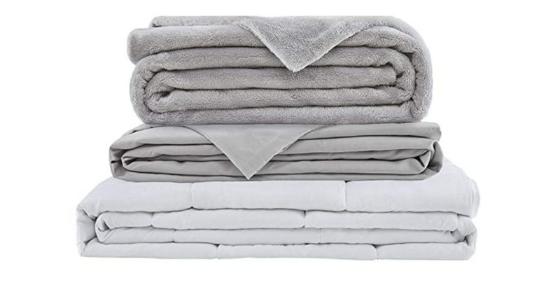 SCM WEighted blanket with extra covers