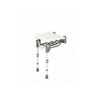 Wall-Mounted Option - Patterson Medical Shower Stool
