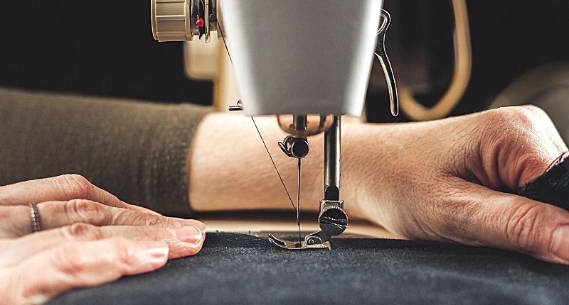 sewing machine for making your own weighted blanket for sleep problems