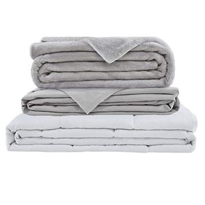 weighted blanket with extras and options