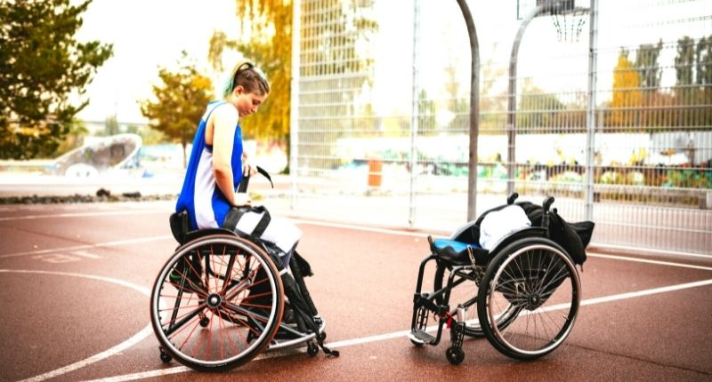 wheelchair use in sports